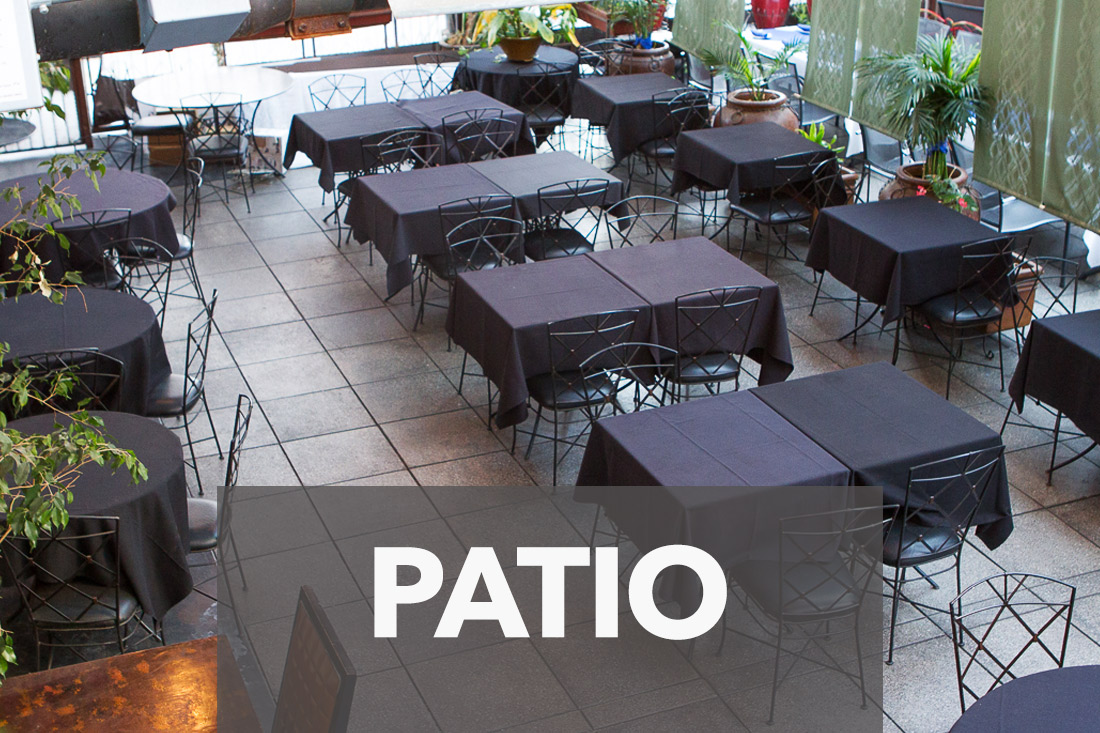 Rookies Patio Downtown